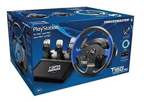Thrustmaster t150 pro timon + pedales para ps4 / ps3 / pc