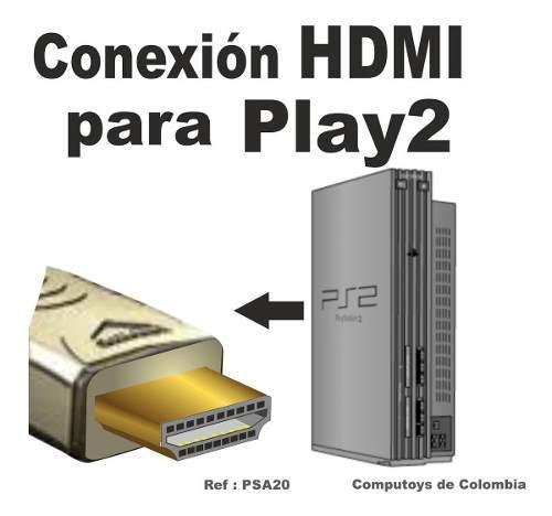 Zpsa20 conversor playstation 2 -hdmi qpsa20q compu-toys