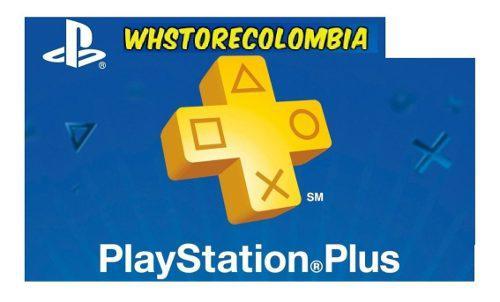 1 Mes Playstation Plus Psn Ps3 Ps4 + Juegos Plus