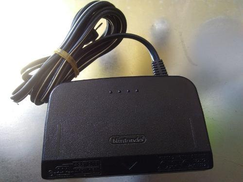 Adaptador de corriente de nintendo 64 original de segunda 02