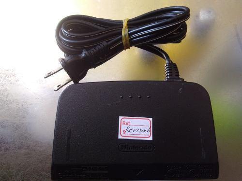 Adaptador de corriente de nintendo 64 original de segunda 03