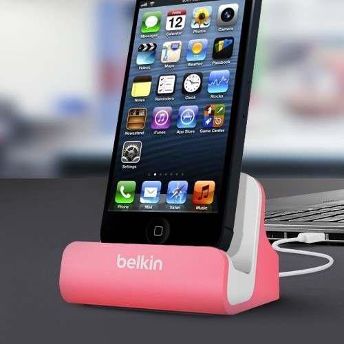 Belkin Base De Carga Dock Estación + Cable iPhone 5/6/7/8/x