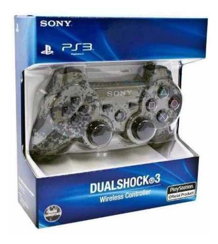 Control ps3 camuflado dualschock bluetooth diseños nuevos