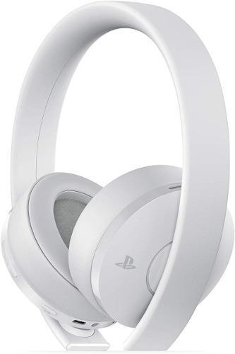 Diadema Sony Gold Wireless Headset Blanca Ps4 Ps Vita Ps3 Pc