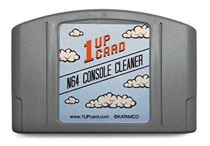Limpiador de consola n64 por 1upcard kit de limpieza nintend