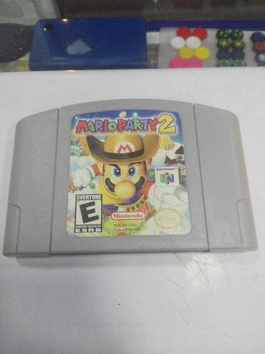 Mario party 2 nintendo n64 excelente estado