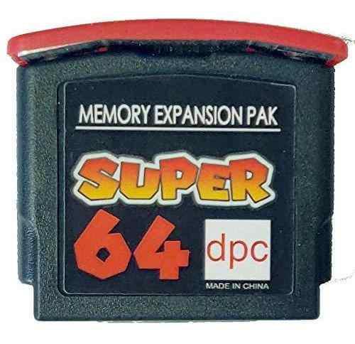 Nintendo 64 - tarjeta de memoria - 4mb ram expansion ju...