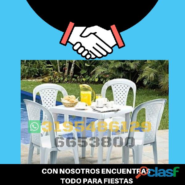 Alquiler de mesas rimax 3195486129 6653800