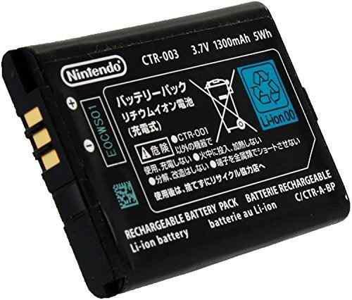 Batería recargable original oficial de nintendo 3ds ctr-003