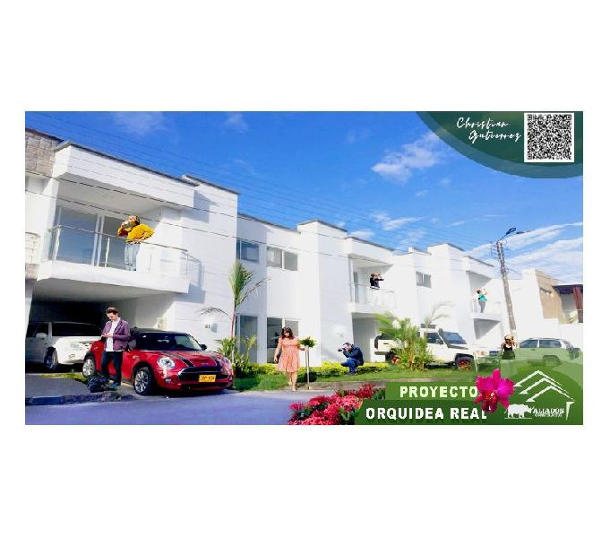Casa orquidea real