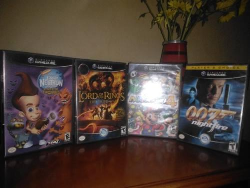 Combo 4 juegos originales gamecube