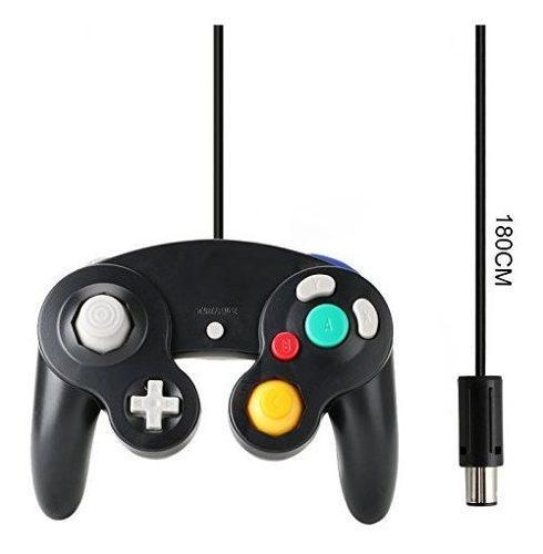 Gamecube controller compatible con nintendo gamecube black