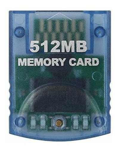 Hde tarjeta memoria 512 mb nintendo gamecube (8192 bloques)