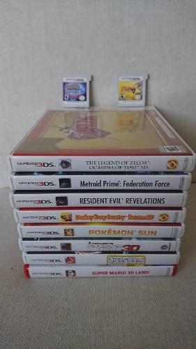 Juegos nintendo 3ds originales caja usados desde 60.000