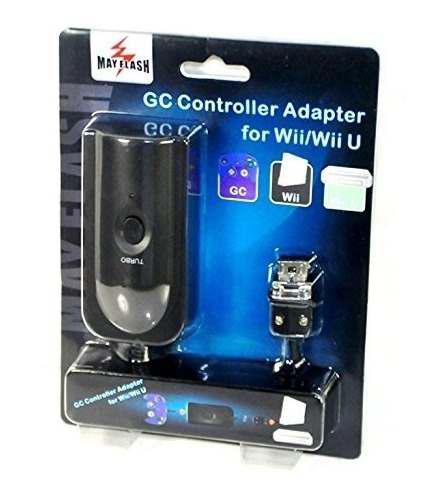 Mayflash nintendo gamecube controller adapter para wii /wii