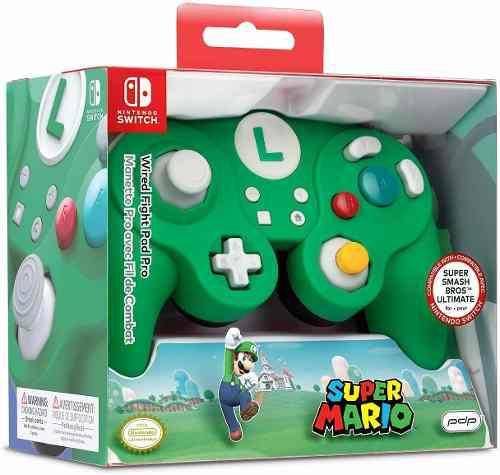 Nintendo switch super mario bros luigi gamecube style w...