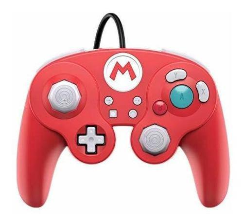 Nintendo switch super mario bros mario gamecube style wired