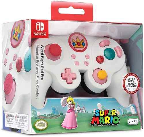 Nintendo switch super mario bros princess peach gamecub...