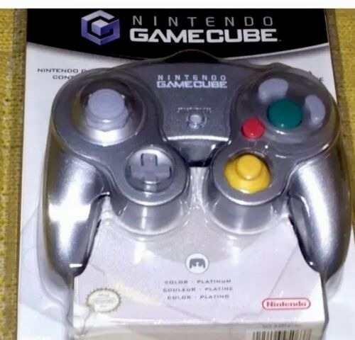 Nuevo * nintendo platinum gamecube controller! ¡nunca abr