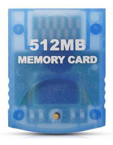 Tarjeta de memoria para consolas nintendo gamecube y wi...