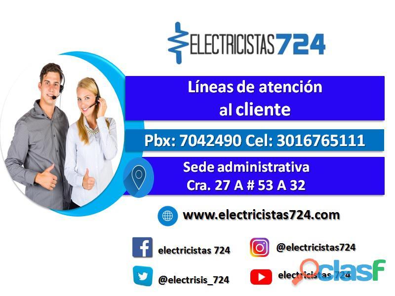 Instalaciones eléctricas bogotá colombia