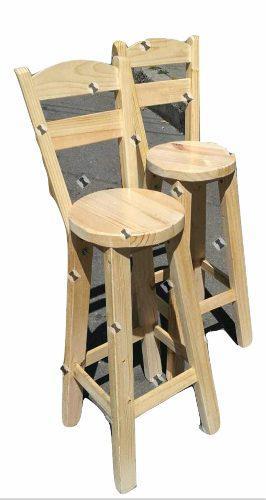Butacon silla alta para barra mostrador