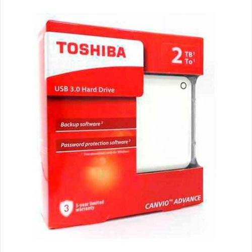 Disco duro externo 2 tb teras toshiba advance +estuche usb3