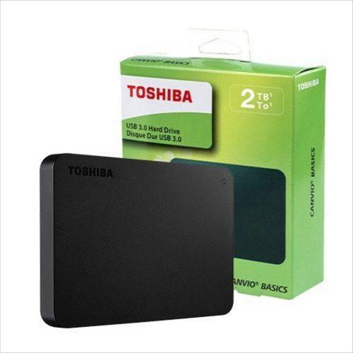 Disco duro externo portable toshiba canvio 2 tb xbox pc ps4