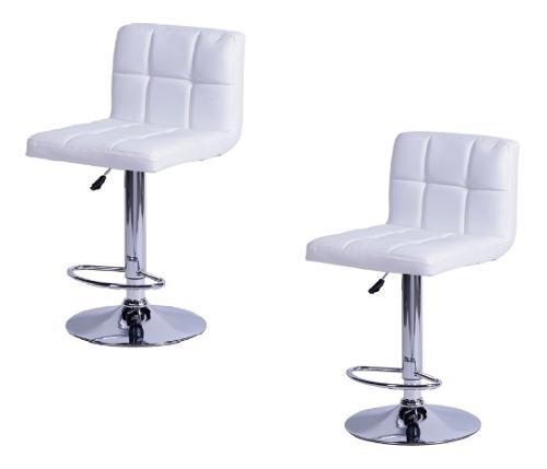 Kit x2 sillas butaco para barra acolchada con garantia
