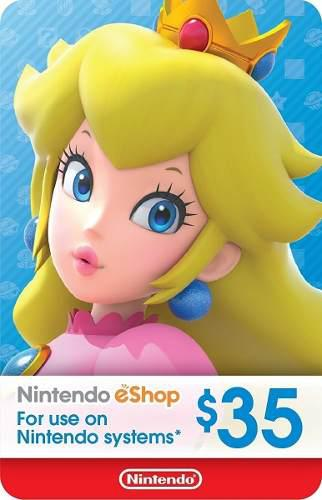 Nintendo eshop 35 usd usa
