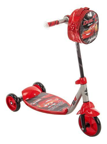 Patineta monopatin disney cars niños scooter 3 ruedas