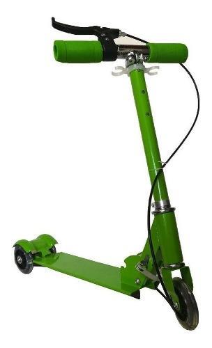 Patineta monopatín scooter 3 ruedas plegable niños niñas