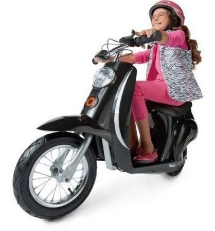 Razor pocket mod black moto electrica scooter 13 años +