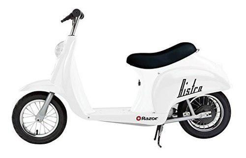 Razor pocket mod white moto scooter eléctrica 24 km/h