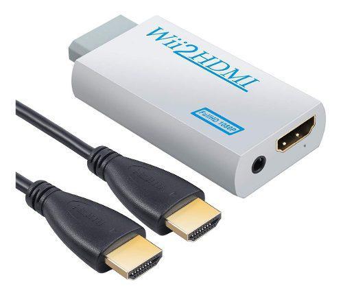 Wii 2 hdmi conecta nintendo wii con hdmi audio video full hd