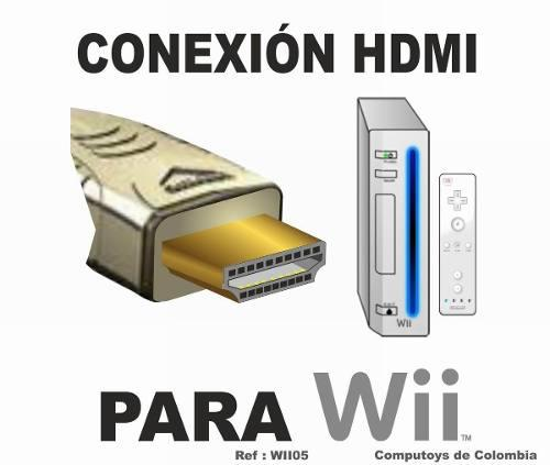 Zwii05 adaptador de video wii a hdmi y audio computoys