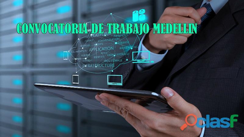 VACANTES DE TRABAJO MEDELLIN