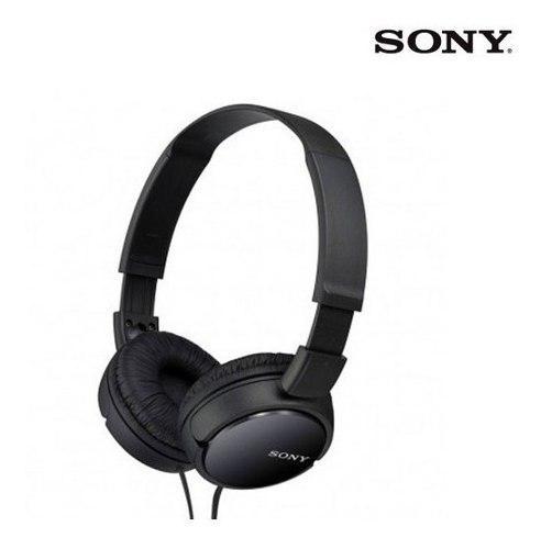 Audífonos De Diadema Sony Mdr-zx110/bcuc Negros