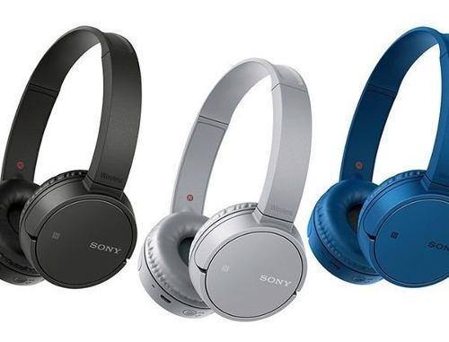 Audífonos inalámbricos sony bluetooth y nfc zx220bt azul