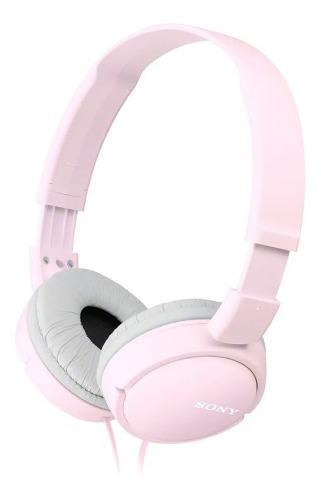 Audífonos Sony Rosados Tipo Banda Para La Cabeza Serie