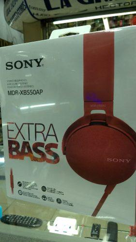 Audifonos sony extra bass mdr - xb