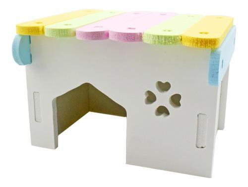 Casa de hámster animal doméstico material no tóxico