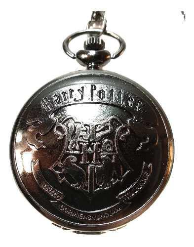Collar Reloj Harry Potter Escudo Hogwarts Gryffindor Snitch