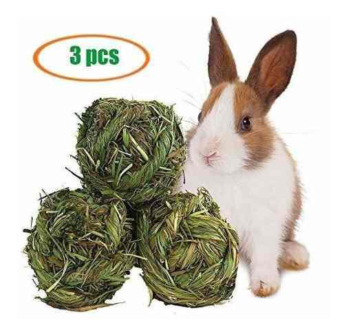 Hamster pelota de masticar timothy grinding para animales pe