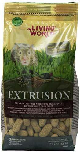 Living world extrusion hamster bolsa de comida