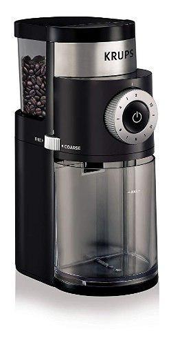 Molinillo café y triturador especias eléctrico krups +