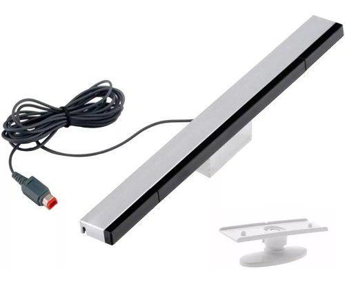 Sensor Barra Sensor De Nintendo Wii/wiiu+soporte. Compatible