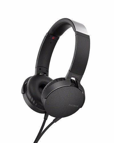 Sony Mdr-xb550ap Black Extra Bass Audífonos Manos Libres