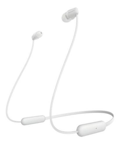 Sony wi-c200 white audifonos inalámbricos