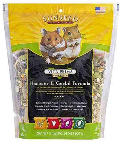 Sunseed vita prima sunscription hamster y comida de jerbo,